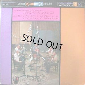 画像1: 米COLUMBIA ブラームス/弦楽五重奏曲第1番,第2番 ブダペストSQ