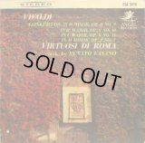 ANGEL[赤盤] ファザーノ&ローマ合奏団/ヴィヴァルディ「和声と創意の試み」から 10インチ盤