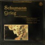 蘭CBS フライシャー&セル/シューマン&グリーグ ピアノ協奏曲