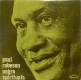 Concert Hall ポール・ロブソン/黒人霊歌を歌う