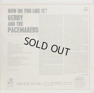 画像3: 英COLUMBIA Gerry and The Pacemakers ジェリー&ザ・ペースメイカーズ/HOW DO YOU LIKE IT?