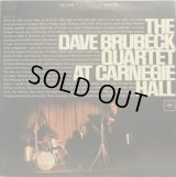 米COLUMBIA [2LP] デイヴ・ブルーベック・カルテット DAVE BRUBECK QUARTET AT CARNEGIE HALL