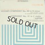 COLUMBIA パウムガルトナー&ワルベルク/モーツァルト 交響曲第40, 41番