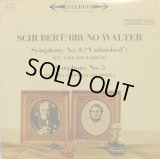 米COLUMBIA ワルター/シューベルト 交響曲第8番「未完成」,第5番