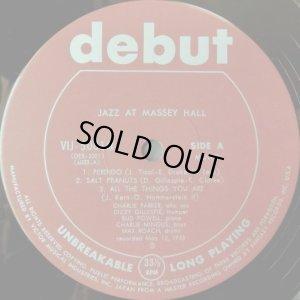 画像2: debut チャーリー・パーカー/The Quintet - Jazz At Massey Hall