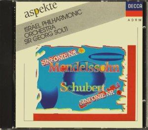 画像1: [中古CD] 独DECCA ショルティ/メンデルスゾーン「イタリア」, シューベルト 交響曲第5番