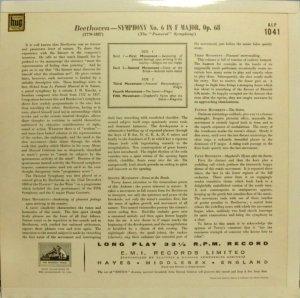画像3: 英EMI フルトヴェングラー&ウィーン・フィル/ベートーヴェン「田園」