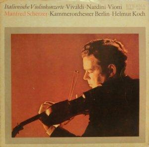 画像1: 東独ETERNA マンフレッド・シェルツァー/イタリアのヴァイオリン協奏曲集