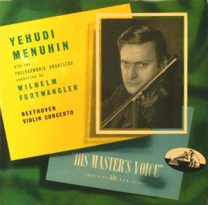 画像1: 英HMV フルトヴェングラー&メニューイン/ベートーヴェン ヴァイオリン協奏曲