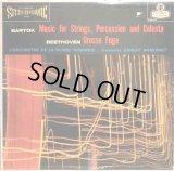 米LONDON(英国プレス) アンセルメ/バルトーク 弦楽器, 打楽器とチェレスタのための音楽,ベートーヴェン 大フーガ