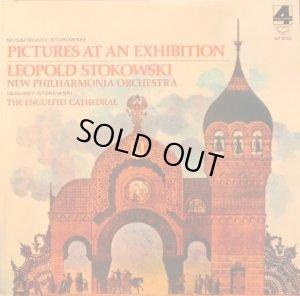 画像1: LONDON ストコフスキー/ムソルグスキー(ストコフスキー編曲)/「展覧会の絵」他