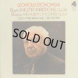 LONDON ストコフスキー&チェコ・フィル/エルガー「なぞ変奏曲」, スクリャービン「法悦の詩」