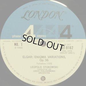 画像2: LONDON ストコフスキー&チェコ・フィル/エルガー「なぞ変奏曲」, スクリャービン「法悦の詩」