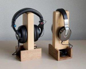 画像1: MH audio /HS-1 ヘッドフォン・スタンド