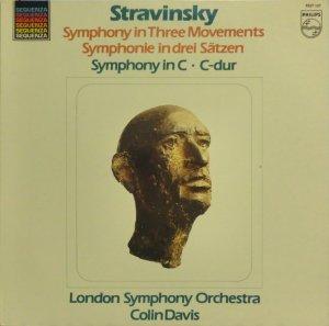 画像1: 蘭PHILIPS C.デイヴィス/ストラヴィンスキー 3楽章の交響曲, 交響曲ハ調