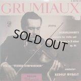 独PHILIPS [10インチ] グリュミオー&モラルト/メンデルスゾーン ヴァイオリン協奏曲