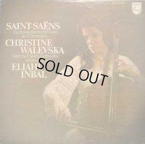 画像1: PHILIPS ワレフスカ/サン=サーンス チェロとオーケストラのための作品全集 インバル