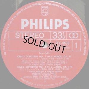 画像2: PHILIPS ワレフスカ/サン=サーンス チェロとオーケストラのための作品全集 インバル