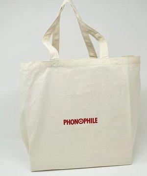 画像1: PHONOPHILE/PP-B02 レコード・トートバッグ