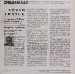 画像3: 米VOX ルモーテル/フランク 交響曲ニ短調, 交響的変奏曲